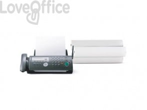Rotolo fax Rotolificio Pugliese carta termica alta sensibilità 210 mm x 50 m foro 25 mm - F21050