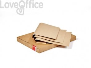 Carta da pacco Rex-Sadoch 5 kg 100x140 cm 70 g/m² avana CK204-AVN