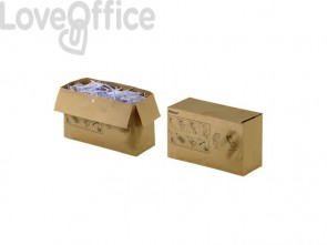 Sacchetti riciclabili per distruggidocumenti Rexel 34 L - 2105901 (conf. da 50)