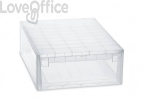 Cassetto multiuso TERRY Light Drawer 52 XL 22 lt. trasparente 1002678