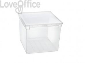 Contenitore multiuso TERRY Light Box 52 XXL 50 lt. trasparente 1002677