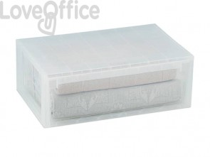 Cassetto multiuso TERRY Light XL 36 lt. trasparente 1001385