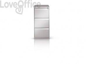 Classificatore per cartelle sospese Tecnical 2 con 3 cassetti grigio - 49,5x65,2x104 cm