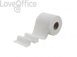 Carta igienica 2 veli KLEENEX® in carta a 2 veli bianco - 8475 (pacco da 4 rotoli)