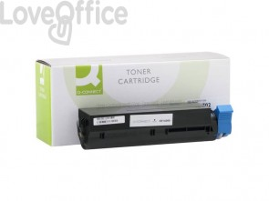 Toner compatibile Oki 44574702 nero Q-Connect
