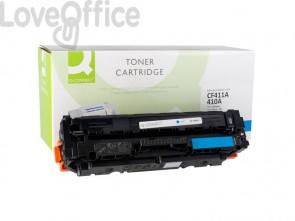 Toner compatibile HP CF411A ciano Q-Connect