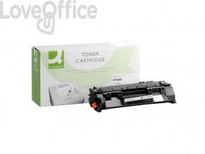 Toner compatibile HP CF280X alta resa nero Q-Connect
