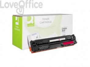Toner compatibile HP CF403X alta resa magenta Q-Connect