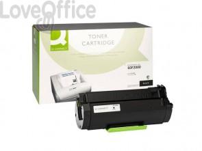 Toner compatibile Lexmark 60F2000 nero  Q-Connect