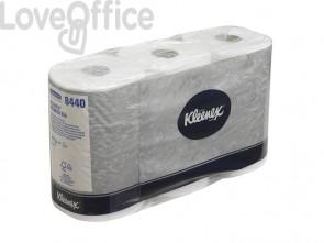 Carta igienica 3 veli KLEENEX® in carta a 3 veli 350 strappi bianco - 8440 (pacco da 6 rotoli)