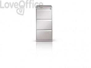 Classificatore per cartelle sospese Tecnical 2 con 3 cassetti bianco - 49,5x65,2x104 cm