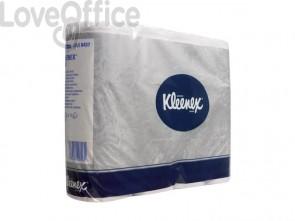 Carta igienica 2 veli KLEENEX® in carta a 2 veli bianco pacco da 12 rotoli - 8437