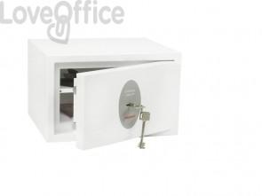 Cassaforte Phoenix bianco - Ral 9003 con serratura a chiave doppia mappa 7 lt. SS1181 K