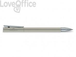 Penna roller Faber-Castell Neo Slim M metallo satinato 342104