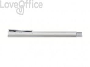 Penna roller Faber-Castell Neo Slim M metallo cromato 342004