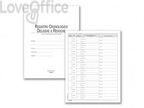 Deleghe e revoche Semper registro cronologico - 48 pagg. 351118DR0