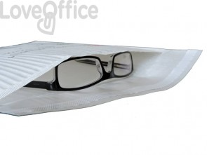 Busta imbottita WeWave in carta kraft, imbottitura carta onda 24x33 cm bianco (conf. 10 buste)