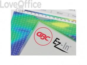 Pouches per plastificatrici GBC f.to a5 15,4x21,6 cm 2x125 µm lucido conf da 100 pouches - 3200749