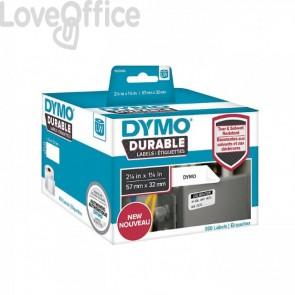 Etichette dymo durable bianche