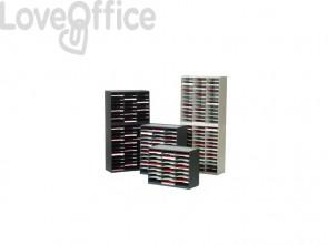 Smistamento corrispondenza Paperflow sistema a 24 scomparti nero K432401
