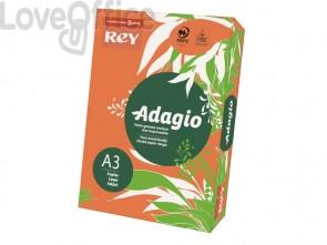Cartoncini colorati A3 arancio INTERNATIONAL PAPER Rey Adagio risma 160 g/m² (risma 250 fogli)