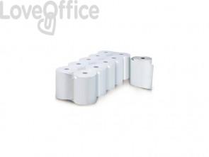 Rotoli registratore di cassa Rotolificio Pugliese Evoroll lunga durata 57 mm x 60 m foro 12 mm - 5760T10 (conf. da 10)