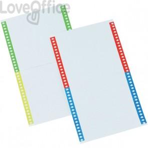 Cartoncini per cartelle sospese Bertesi - Per armadio - Modello Beta (10 fogli da 40 cartoncini)