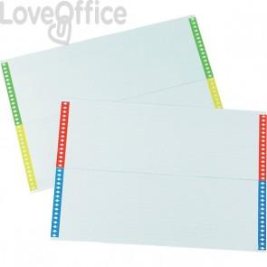 Cartoncini per cartelle sospese Bertesi - Per cassetto (10 fogli da 28 cartoncini)