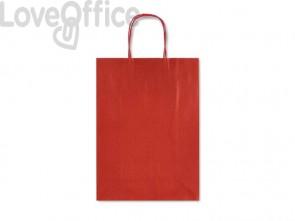 Sacchetti da regalo Rex-Sadoch Allegra tinta unita Dark 36x12x41 cm rosso conf. da 25 - SDF36-551