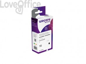 Cartuccia inkjet compatibile Lexmark 10N0016B nero  WECARE
