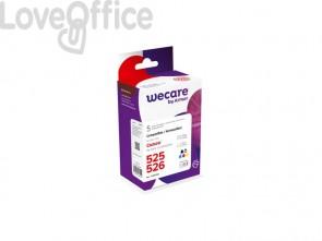Cartucce inkjet compatibile Canon 4540B017 nero+ciano+magenta+giallo Conf. 5 - WECARE