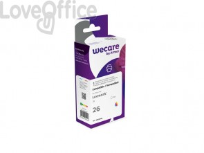Cartuccia inkjet compatibile Lexmark 10N0026E 3 colori WECARE