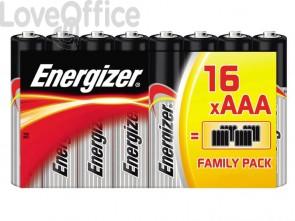 Batterie ENERGIZER Alkaline Power AAA  conf. da 16 - E300171705