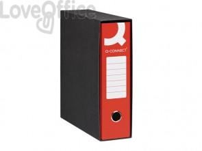 Registratori a leva protocollo Q-connect con custodia A4 dorso 8 cm rosso (conf. 6 pezzi)
