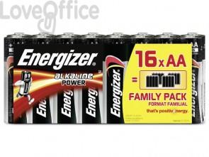 Batterie ENERGIZER Alkaline Power ROSSO  conf. da 16 - E300173000