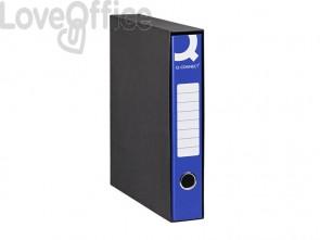 Registratori a leva protocollo Q-connect con custodia A4 dorso 5 cm blu (conf. 8 pezzi)