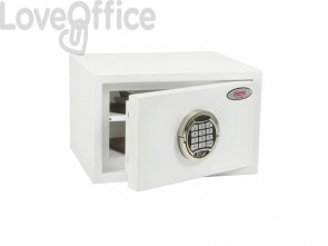 Cassaforte Phoenix bianco - Ral 9003 con serratura elettronica. 7 lt. SS1181 E