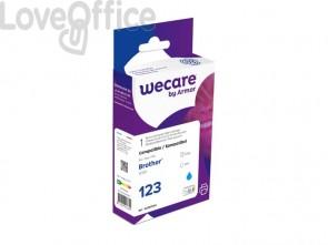 Cartuccia inkjet compatibile Brother LC-123C ciano  WECARE
