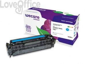 Toner compatibile HP CC531A ciano WECARE