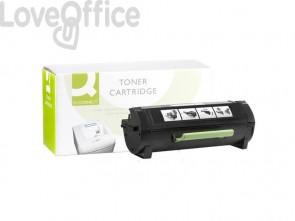 Toner compatibile Lexmark 50F0HA0 alta resa nero Q-Connect