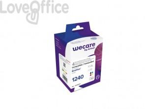 Cartucce inkjet compatibile Brother LC-1220VALBP nero+ciano+magenta+giallo Conf. da 4 - WECARE