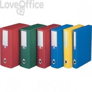 Scatole progetto Plus Fellowes - Dorso 15 - 25,5x35,5 cm - rosso - U215RO (conf.5)