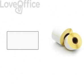 Etichette ad. in rotoli per stampanti trasf.Termico Diretto Printex 50x30cm bianco permanente 5000 pezzi - ETE5030