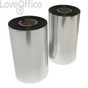Nastro carbonato per etichette a trasferimento termico Printex cera 60 cm x 300 m nero - PFOILER/65