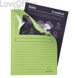 Cartelline con finestra Exacompta Forever® A4 cartoncino 120 g/m² verde chiaro  conf. da 100 - 50107E