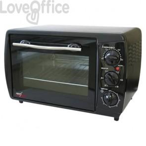 Forno elettrico Melchioni Family nero ventilato potenza 1500W 31 L 118380023
