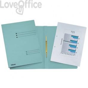 Cartelline ad aghi Esselte Rapid File 29,5x32 cm azzurro 621057 (conf.25)