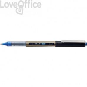 Penna Roller inchiostro liquido Uni-Ball Eye Broad - punta media 1 mm blu