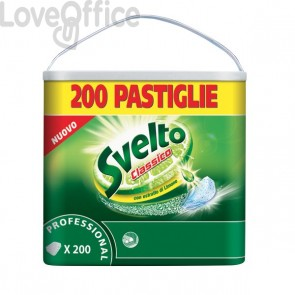 Svelto tablets per lavastoviglie - 200 pastiglie - 7510491
