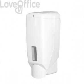 Distributore per sapone liquido a rabbocco QTS - 9,2x9,4x18 cm - 600 ml - IN- 3194/ELB
